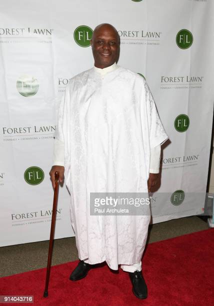 Actor Robert Wisdom attends the Witness: The John Edgar Wideman Experience at Forest Lawn Memorial Park on February 3, 2018 in Los Angeles,...