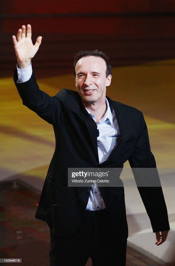 'Che Tempo Che Fa' TV Show - April 15, 2012