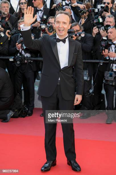 Actor Roberto Benigni attends Closing Ceremony screening of The Man Who Killed Don Quixote during the 71st annual Cannes Film Festival at Palais des...