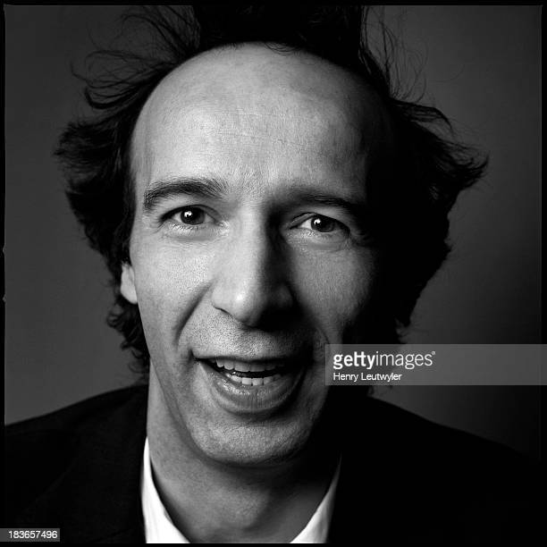 Actor Roberto Benigni poses in 2005 for Madame Figaro in Paris France