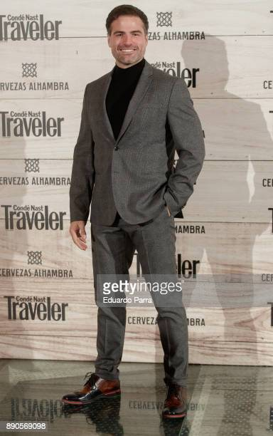 Actor Roberto Manrique attends the 'Conde Nast Traveler Gastronomic and Wine Guide' photocall at Florida Retiro on December 11 2017 in Madrid Spain