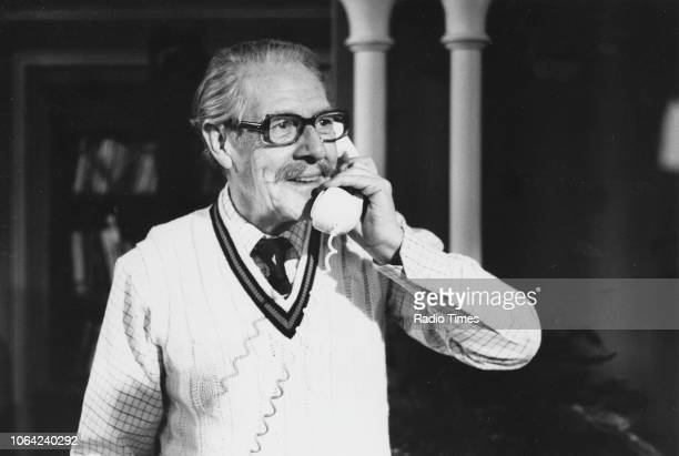 Actor Robin Bailey in a scene from episode 'The Prodigal Grandfather' of the television series 'Sharing Time' October 25th 1983