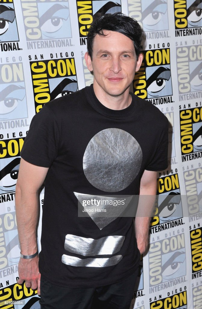 Actor Robin Lord Taylor at the 'Gotham' Press Line during Comic-Con International 2017 at Hilton Bayfront on July 22, 2017 in San Diego, California.