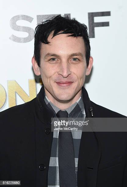 Actor Robin Lord Taylor attends a screening of Sony Pictures Classics' 'The Bronze' hosted by Cinema Society SELF at Metrograph on March 17 2016 in...