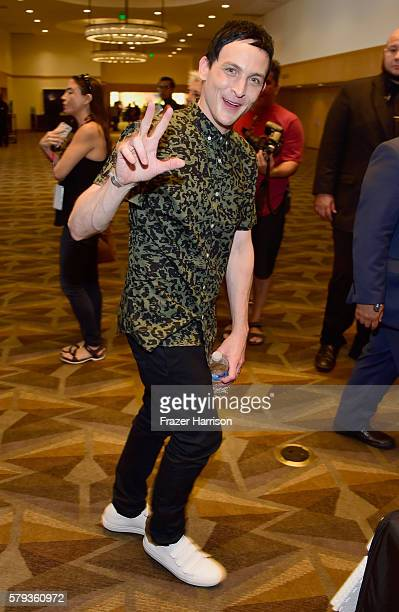 Actor Robin Lord Taylor attends 'Gotham' Press Line during ComicCon International 2016 at Hilton Bayfront on July 23 2016 in San Diego California