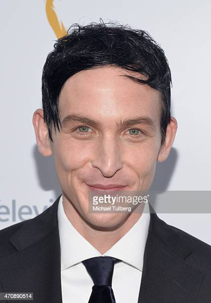 Actor Robin Lord Taylor attends the 36th College Television Awards at Skirball Cultural Center on April 23 2015 in Los Angeles California
