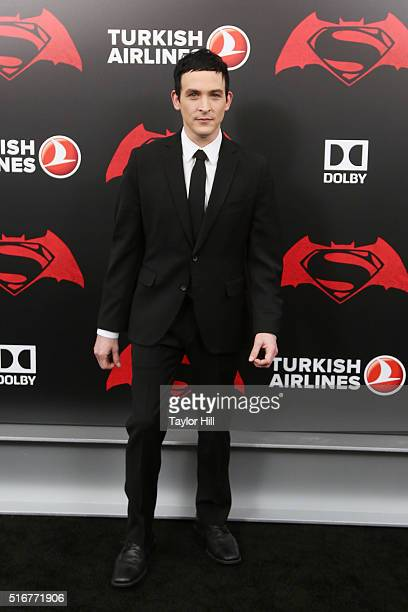 Actor Robin Lord Taylor attends the 'Batman v Superman Dawn of Justice' premiere at Radio City Music Hall on March 20 2016 in New York City