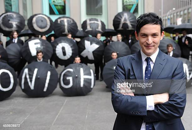 Actor Robin Lord Taylor attends the Gotham Oswald Cobblepot New York City Takeover on September 22 2014 in New York City