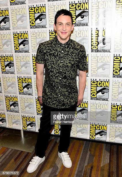 Actor Robin Lord Taylor attends the 'Gotham' press line during ComicCon International 2016 at Hilton Bayfront on July 23 2016 in San Diego California