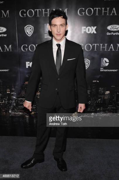 Actor Robin Lord Taylor attends the 'Gotham' Series Premiere at The New York Public Library on September 15 2014 in New York City