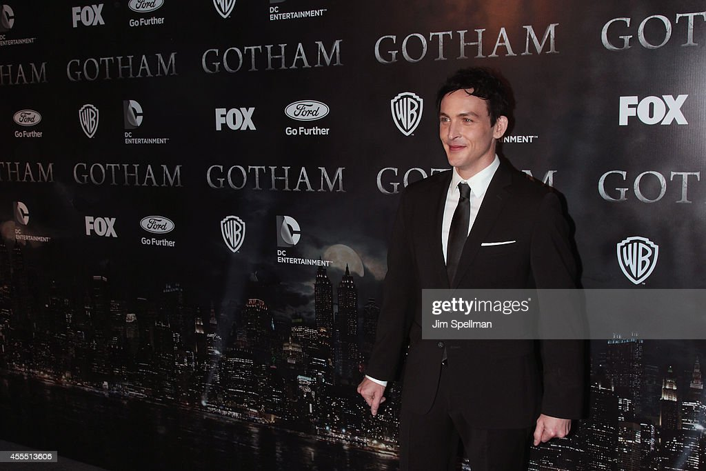 Actor Robin Lord Taylor attends the 'Gotham' Series Premiere at The New York Public Library on September 15, 2014 in New York City.