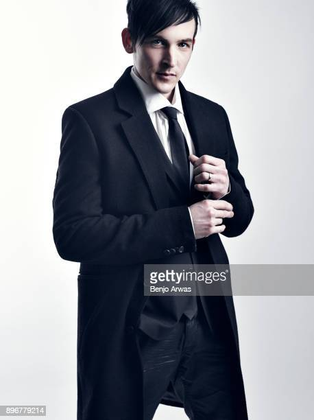Actor Robin Lord Taylor is photographed for Self Assignment on January 10 2015 in Los Angeles California