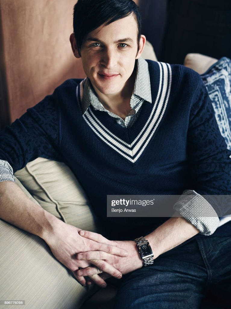 Actor Robin Lord Taylor is photographed for Self Assignment on January 10, 2015 in Los Angeles, California.