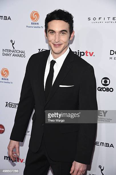 Actor Robin Lord Taylor ttends 43rd International Emmy Awards at New York Hilton on November 23 2015 in New York City