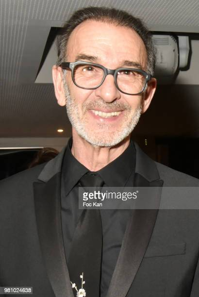 Actor Robin Renucci attends the Amnesty International 34 th Gala at Theatre Champs Elysees and after Party at La Maison Blanche on June 21 2018 in...