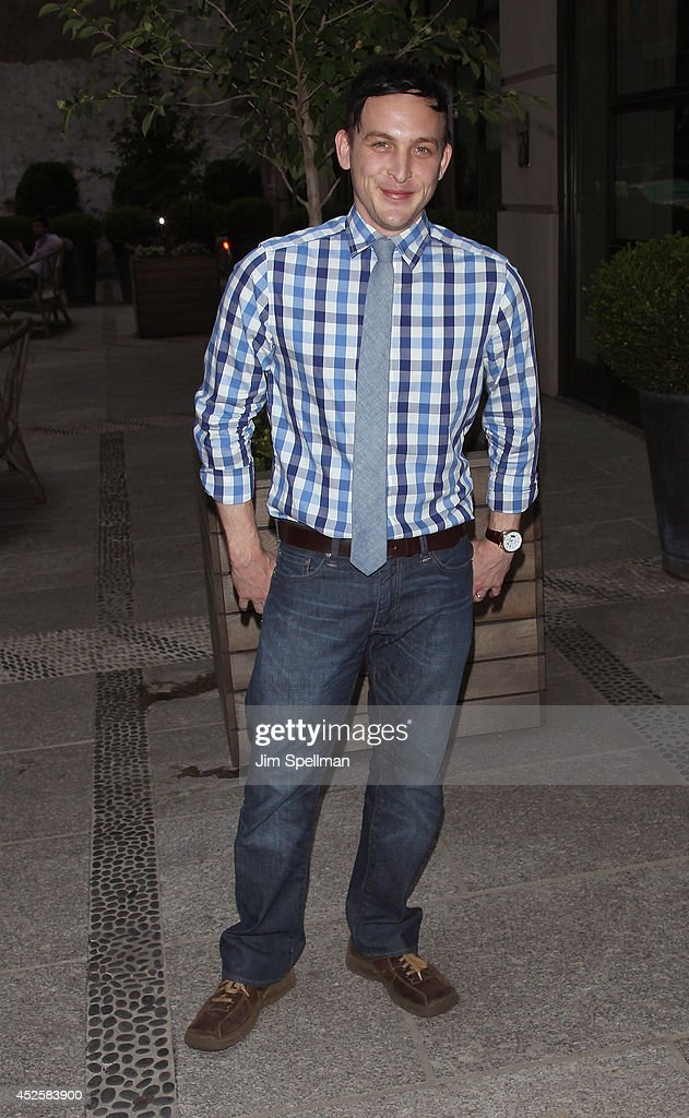 Actor Robin Taylor attends the Cinema Society Screening Of 'The Honorable Woman' at Crosby Street Hotel on July 23, 2014 in New York City.