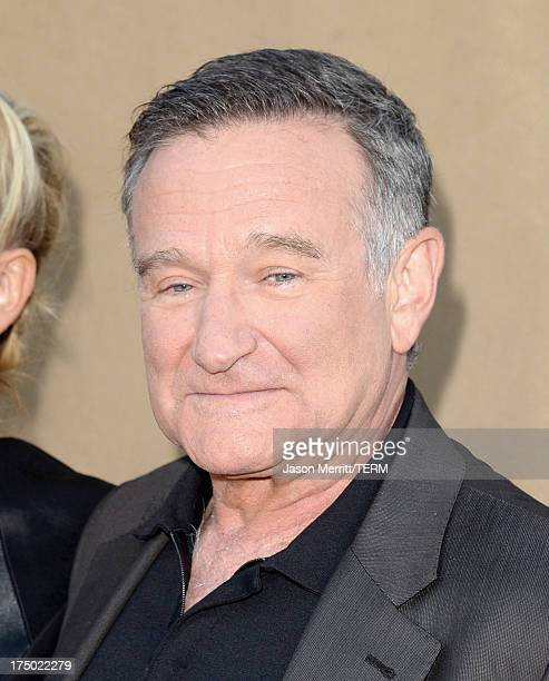 Actor Robin Williams arrives at the CW, CBS and Showtime 2013 summer TCA party on July 29, 2013 in Los Angeles, California.