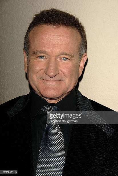 Actor Robin Williams arrives at The Hollywood Film Festival 10th Annual Hollywood Awards Gala Ceremony at the Beverly Hilton Hotel October 23, 2006...