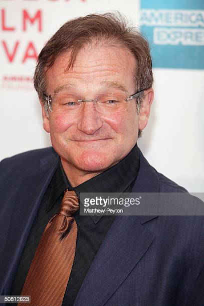 Actor Robin Williams arrives at the screening of 'House Of D' during the 2004 Tribeca Film Festival May 7 2004 in New York City