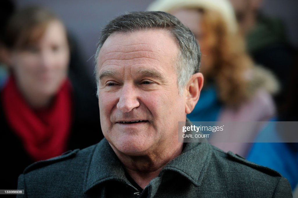US actor Robin Williams arrives for the : News Photo