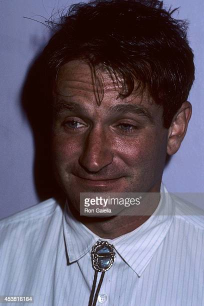 Actor Robin Williams attends Sting in Concert The Dream of the Blue Turtles Tour at Madison Square Garden After Party on September 30 1985 at Jerry's...