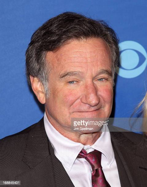Actor Robin Williams attends the 2013 CBS Upfront at The Tent at Lincoln Center on May 15, 2013 in New York City.