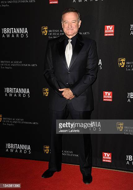 Actor Robin Williams attends the BAFTA Los Angeles Britannia Awards at The Beverly Hilton hotel on November 30, 2011 in Beverly Hills, California.