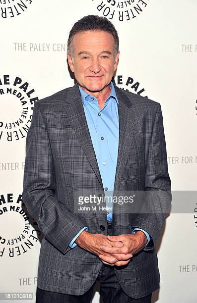 "Actor Robin Williams attends the Paley Center For Media's ""A Legendary Evening With Robin Williams"" at The Paley Center for Media on September 19,..."
