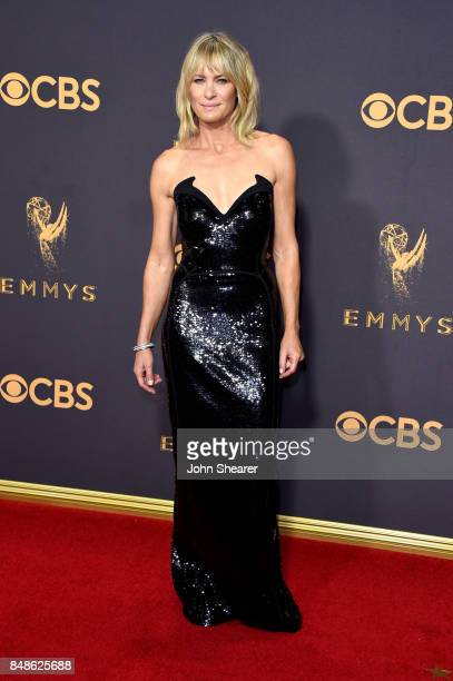 Actor Robin Wright attends the 69th Annual Primetime Emmy Awards at Microsoft Theater on September 17 2017 in Los Angeles California