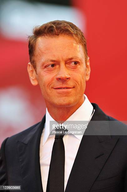 Actor Rocco Siffredi attend the 'Tinker Tailor Soldier Spy' premiere at the Palazzo del Cinema during the 68th Venice Film Festival on September 5...
