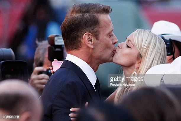 Actor Rocco Siffredi attends the Tinker Tailor Soldier Spy premiere at the Palazzo del Cinema during the 68th Venice Film Festival on September 5...