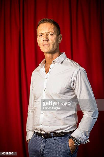 Actor Rocco Siffredi poses for portrait during the 73rd Venice Film Festival on September 1 2016 in Venice Italy