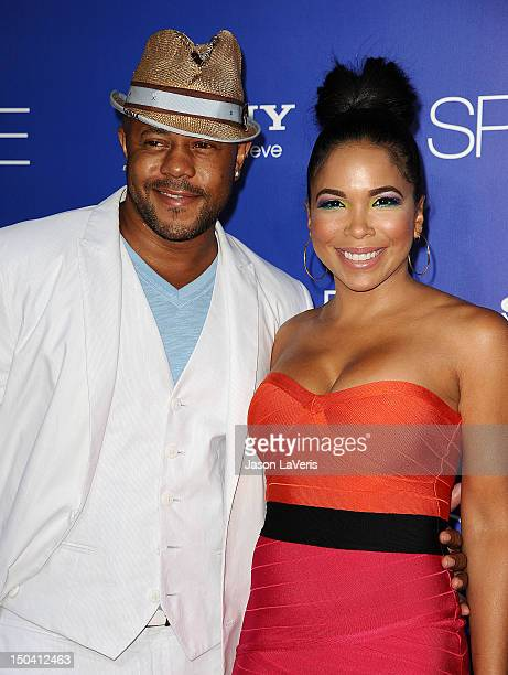 Actor Rockmond Dunbar and actress Maya Gilbert attend the premiere of Sparkle at Grauman's Chinese Theatre on August 16 2012 in Hollywood California