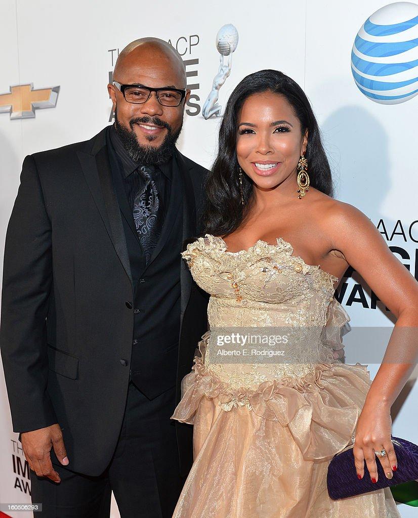 44th NAACP Image Awards - Red Carpet : ニュース写真