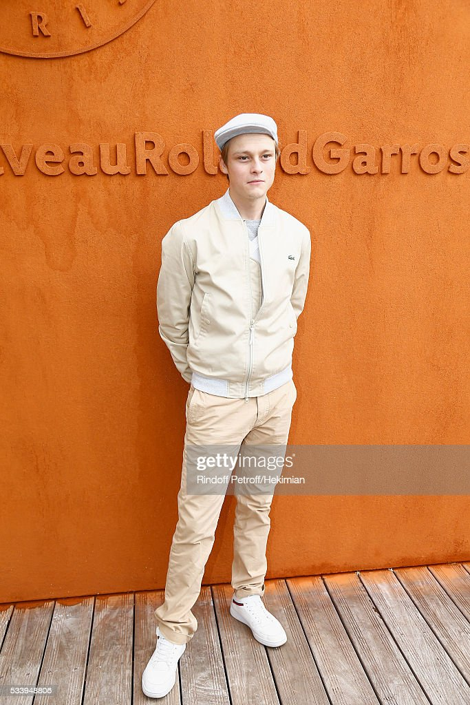 Actor Rod Paradot attends the 2016 French Tennis Open - Day Three at Roland Garros on May 24, 2016 in Paris, France.
