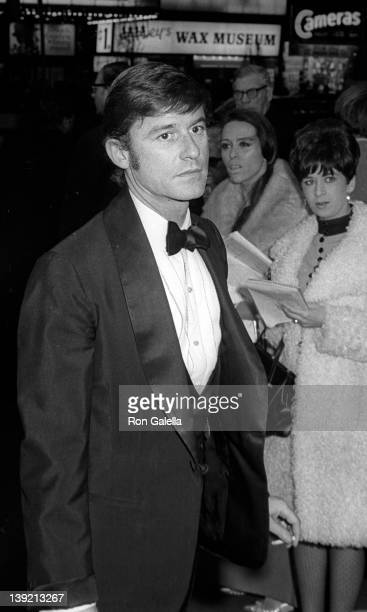 Actor Roddy McDowall attends the premiere of 'Dr Dolittle' on December 16 1967 at Loew's State Theater in New York City