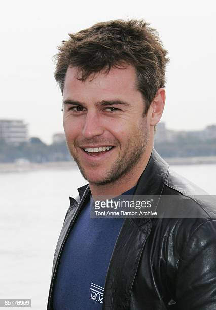 CANNES MARCH 31 Actor Rodger Corser attends Photocall for the new Southern Star series Rush during MIPTV at the Majestic Pier on March 31 2009 in...