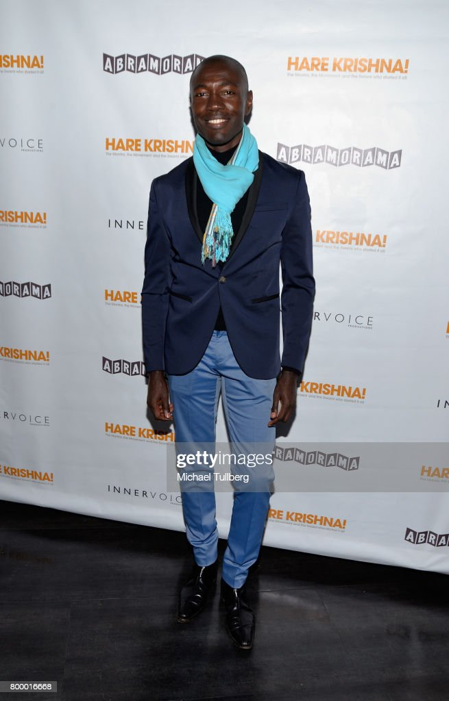 Actor Rodney Charles attends a screening of Abramorama's 'Hare Krishna!: The Mantra, the Movement and the Swami Who Started It All' at Laemmle Monica Film Center on June 22, 2017 in Santa Monica, California.