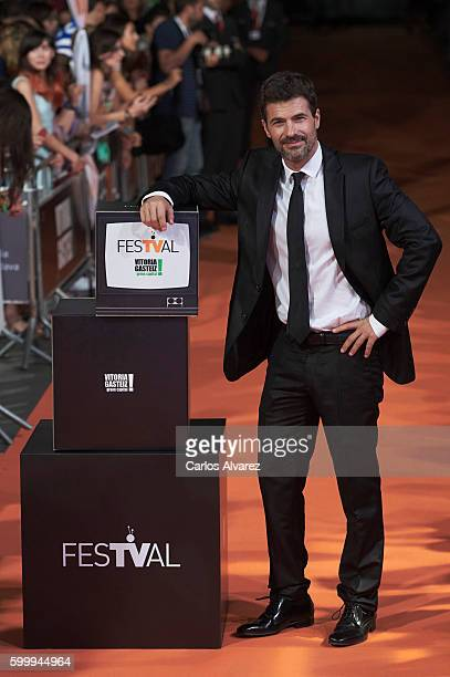 Actor Rodolfo Sancho attends Mar de Plastico premiere at Principal Theater during FesTVal 2016 Day 3 Televison Festival on September 7 2016 in...