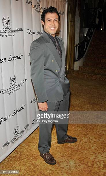 Actor Rodrigo Rojas arrives at the 36th Annual Vision Awards at The Beverly Wilshire Hotel on June 27, 2009 in Beverly Hills, California.