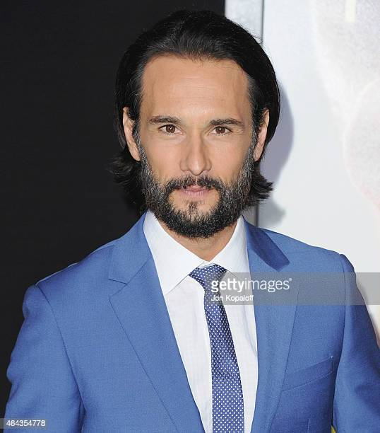 Actor Rodrigo Santoro arrives at the Los Angeles World Premiere Of Warner Bros Pictures Focus at TCL Chinese Theatre on February 24 2015 in Hollywood...