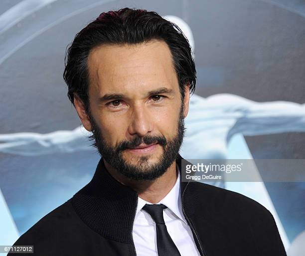 Actor Rodrigo Santoro arrives at the premiere of HBO's 'Westworld' at TCL Chinese Theatre on September 28 2016 in Hollywood California