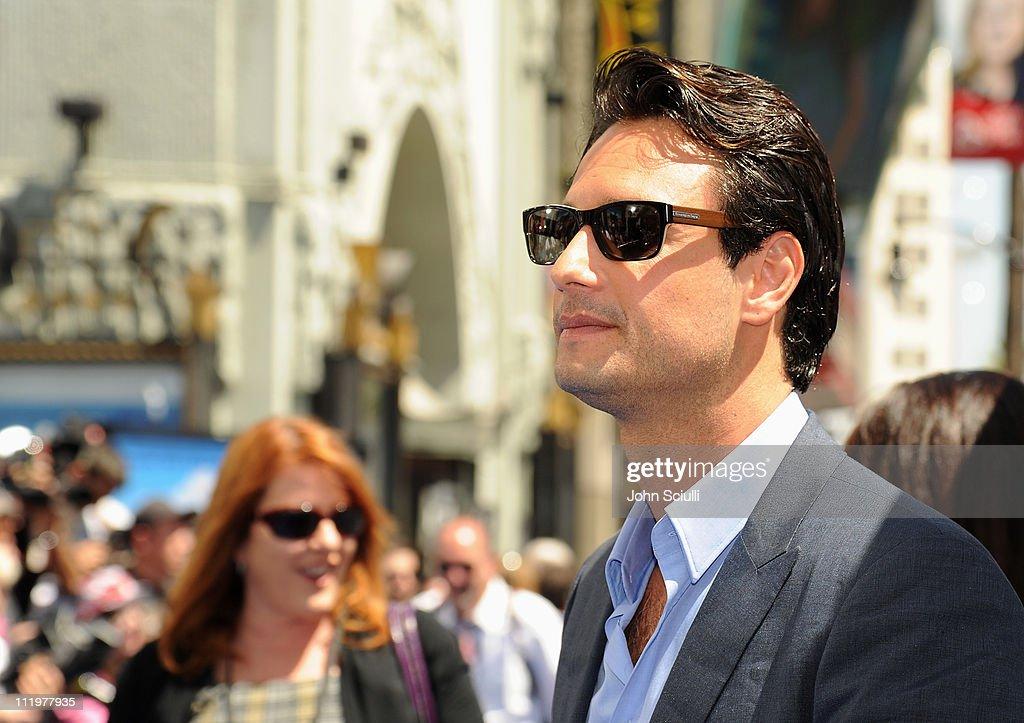 Actor Rodrigo Santoro arrives for the premiere of Twentieth Century Fox & Blue Sky Studios' 'RIO' on April 10, 2011 in Hollywood, California.
