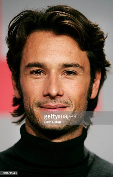 Actor Rodrigo Santoro attends a press conference to promote the movie '300' during the 57th Berlin International Film Festival on February 14 2007 in...