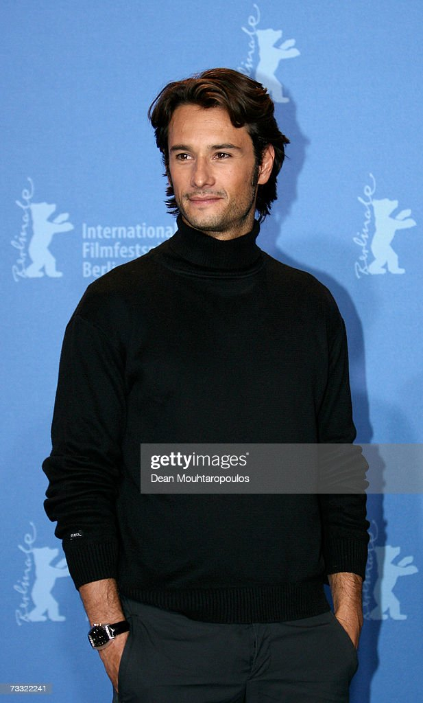Actor Rodrigo Santoro attends a press conference to promote the movie '300' during the 57th Berlin International Film Festival (Berlinale) on February 14, 2007 in Berlin, Germany.