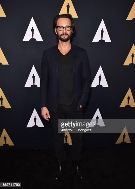 Actor Rodrigo Santoro attends the Academy Nicholl Fellowships In Screenwriting Awards Presentation And Live Read at Samuel Goldwyn Theater on...