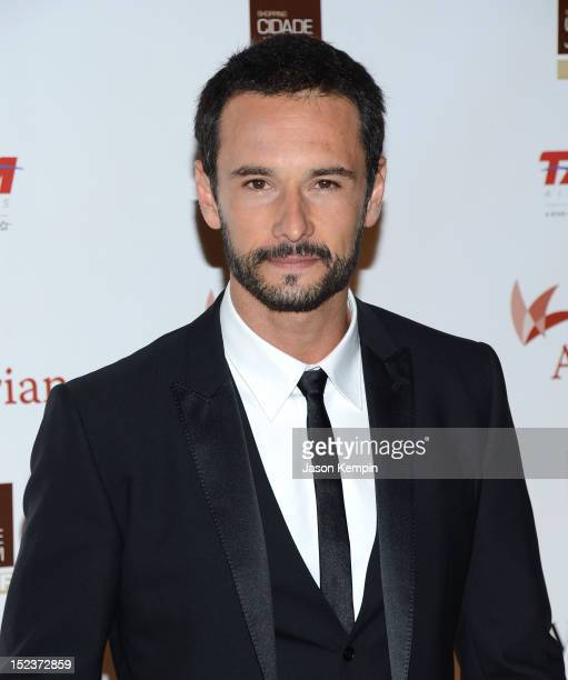 Actor Rodrigo Santoro attends the Annual Brazil Foundation Gala Party at the American Museum of Natural History on September 19 2012 in New York City