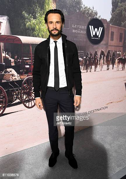 Actor Rodrigo Santoro attends the premiere of HBO's 'Westworld' at TCL Chinese Theatre on September 28 2016 in Hollywood California