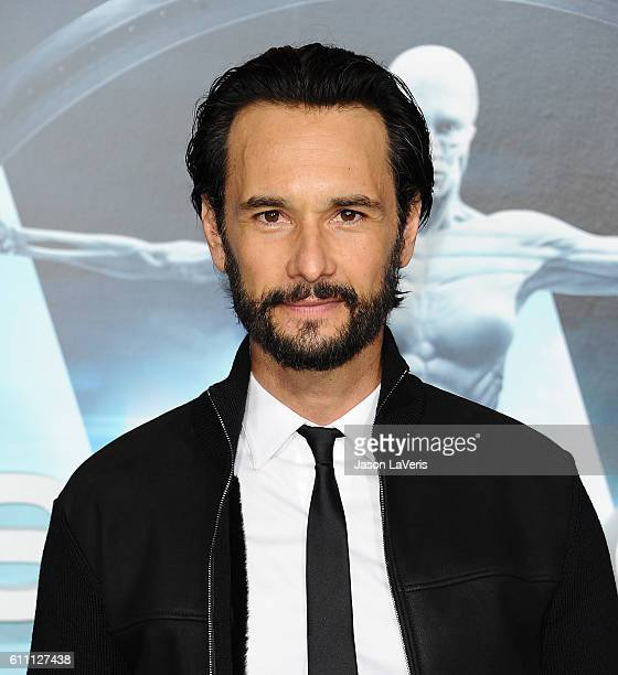 Actor Rodrigo Santoro attends the premiere of 'Westworld' at TCL Chinese Theatre on September 28 2016 in Hollywood California