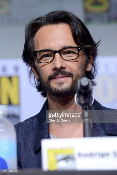 Actor Rodrigo Santoro attends the 'Westworld' panel and QA Session during ComicCon International 2017 at San Diego Convention Center on July 22 2017...